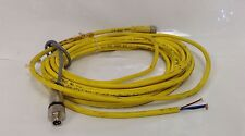 BALLUFF * 4PIN CABLE CONNECTOR W/MUILTIFASTNER  * C49ANE00VY050M/MS-E 7-PNP
