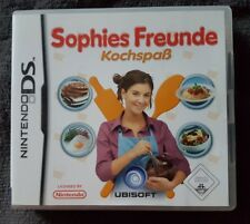 Sophies Freunde: Kochspaß (Nintendo DS, 2007)...LEERHÜLLE mit Anleitung