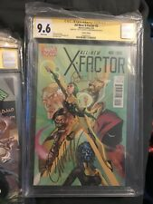 All New X-Factor #2 CGC SS 9.8 Signed Peter David Campbell Personal Collection