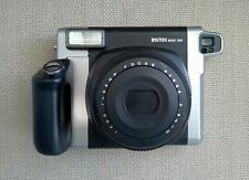 AS IS Fujifilm Instax Wide 300 Instant Film Camera Black/Silver - Untested