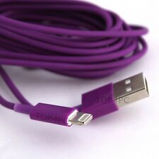 CHARGEUR IPHONE 6 - 5 5S 5C CABLE USB DATA SYNCHRO VIOLET 8 PIN IPAD MINI AIR