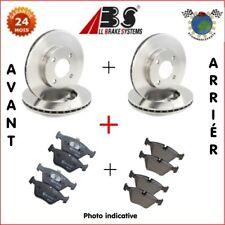 Kit complet disques et plaquettes avant + arrière Abs AUDI A4 bjf
