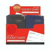 2020 Pocket Week To Diary PVC Leather Effect With Metal Corners (TAL3633)