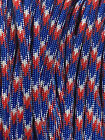 TJParacord SOLID/PATTERN Paracord 550 lbs Type III 7 Strand USA Made Rope 100 Ft