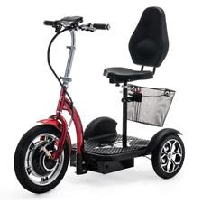 Elektroroller VELECO ZT16 Seniorenmobil Dreirad 3rad E-Fahrzeug 3 Farben
