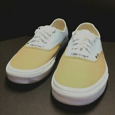 Vans Mens Authentic 2 Tone Shoes Baby Blue, Brown Sneakers Off The Wall Size 12