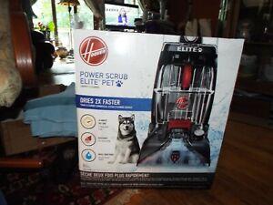 NEW HOOVER POWER SCRUB ELITE PET CARPET CLEANER NO RESERVE