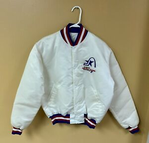 ORIGINAL 1988 NHL ALL-STAR GAME NYLON STARTER JACKET ST. LOUIS BLUES SCARCE