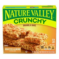 Nature Valley Granola Bars - Crunchy Roasted Almond, 6 ct