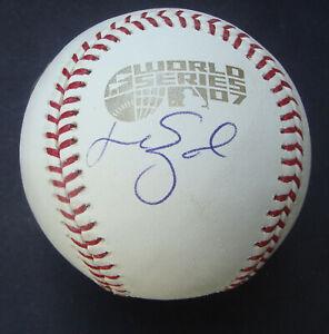 Manny Ramirez 2007 World Series Signed Autographed Baseball MLB COA