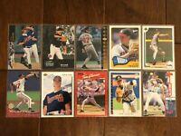 Tom Glavine - Atlanta Braves - 10 Baseball Card Lot - No Duplicates