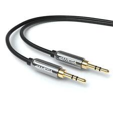 1m AUX Kabel 3,5mm Audio Stereo Klinke-Stecker für Handy PC MP3 iPhone Auto