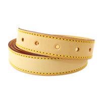 LOUIS VUITTON Logos Shoulder Strap Brown Leather Handbag Accessories M15389