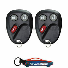 2 Replacement for GMC Envoy - 2006 2007 2008 2009 Keyless Entry Car Fob Remote