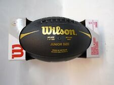 Wilson College Football Playoff Silver Series Junior Size