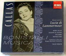 LUCIA DI LAMMERMOOR - CALLAS, DI STEFANO, GOBBI - SERAFIN - 2 CD Sigillato EMI