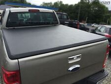 To Fit 05-15 Mitsubishi L200 Double Cab Tri Fold Soft Tonneau Cover 4x4 Long Bed