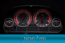 BMW Tachoscheiben Tacho E39 Benzin oder Diesel M5 CARBON 3091 Tachoscheibe X5