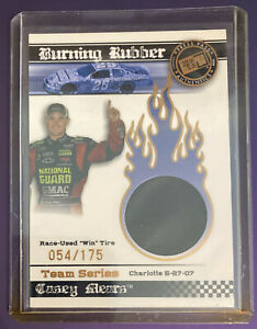 Casey Mears 2008 Press Pass Burning Rubber Race-Used Win Tire SP 54/175