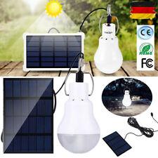 15W LED Solar Glühbirne Zelt-Camping-Lampe Solarleuchte Garten Außen-Beleuchtung
