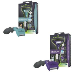 FURminator Undercoat DeShedding Tool For Cats (Various Sizes) Genuine Items UK