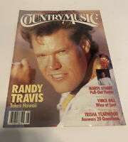 Vintage Country Music Magazine July/August 1992 Randy Travis Cover
