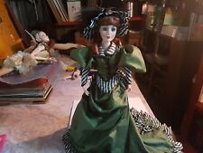 Colleen of County Cork  musical doll from Franklin mint 52cm tall