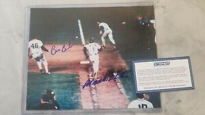 Mookie Wilson/Bill Buckner signed picture