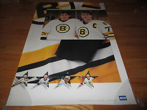 NESN Promotional CAM NEELY and  RAY BOURQUE BOSTON BRUINS Poster