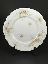 Antique Theodore Haviland China Limoges France Patent Applied For Dinner Plate