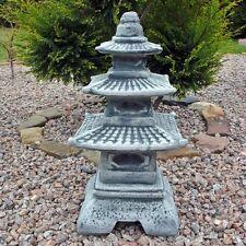 Gartenfiguren & -skulpturen aus Steinguss mit Laterne