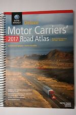 Rand McNally 2017 Deluxe Motor Carriers Truckers Road Atlas Spiral/Laminated