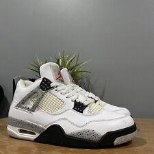 Nike Air jordan 4 white cement 2016 9.5