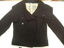 Women's  Burberry London Blue Label Black Jacket size 36