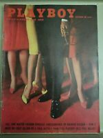 Playboy October 1961 * Good Condition* Free Shipping USA