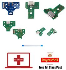 Playstation 4 PS4 Controller Micro USB Charging Circuit Boards with Flex Cables