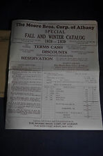 1938 Moore Brothers [Albany NY] Catalog, Dairy, Poultry & Veterinary Supplies