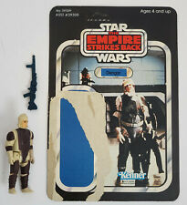 Vintage Kenner Star Wars Dengar figure with ESB backer card Complete