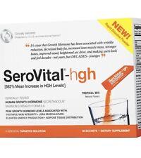 Serovital-HGH Tropical Mix 30 powder sachets, Exp:2021 SEALED NEW, Defy Aging