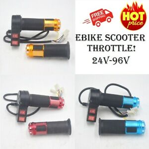 Electric Bike Scooter Throttle With 3 Speed Controller And Forward Reverse