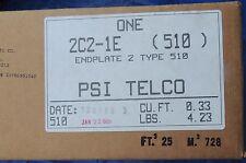 3M PSI 2C2-1E-510 ENDPLATE 2 TYPE 510 CABLE SPLICE CLOSURE KIT NIB