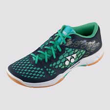 NEW YONEX POWER CUSION 03 SHB03EX BADMINTON SHOE INDOOR NAVY/TURQUOISE