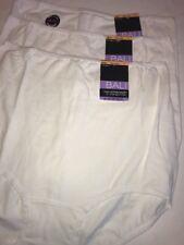 Bali V332 Skimp Skamp Cotton Brief Panty 3 Pairs 7 Large
