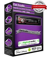 FIAT SCUDO Radio DAB Radio de coche Pioneer deh-4700dab GRATIS Antena DAB