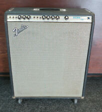 Vintage 1976 Fender Bassman Ten Tube Amplifier w/ Cover & Manual ~ Free Shipping