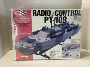 Lindberg PT 109 Motorized radio control adaptable Plastic Model NOS FREE SHIP