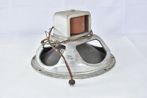 "1951 Magnavox / Jensen 15"" Field Coil Tube Amp Electric speaker western USA prod"