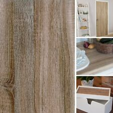NEW DIY Kitchen Worktop Oak Woodgrain Vinyl Cover Self Adhesive Sticky Back Wrap