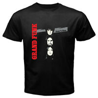 New Grand Funk Railroad Closer to Home Men's Black T-Shirt Size S-3XL