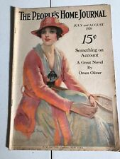 The People's Home Journal Magazine~July 1920 Coca Cola Advertising Fashion